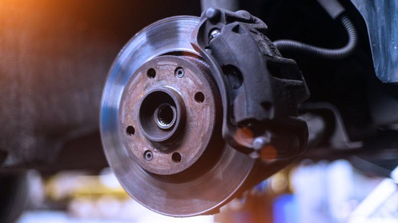 BMW Brake Caliper Check