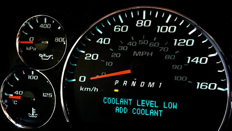 MINI Coolant Level Low Warning Light