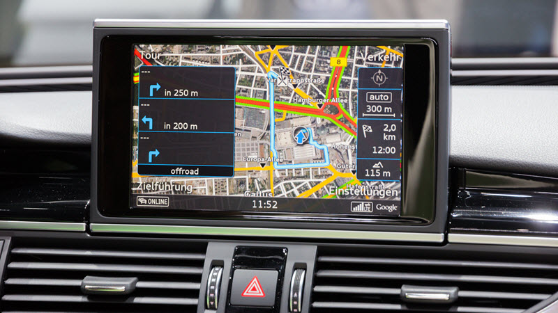 Audi RS7 Navigation